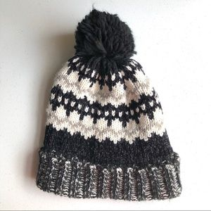 Old Navy Fleece Lined Knit Winter Hat One Size